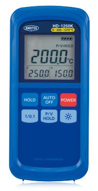 Presisjons digitalt termometer